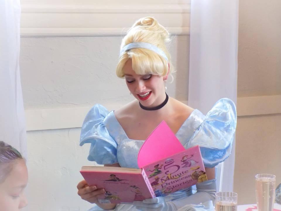 Princess stories with Cinderella
