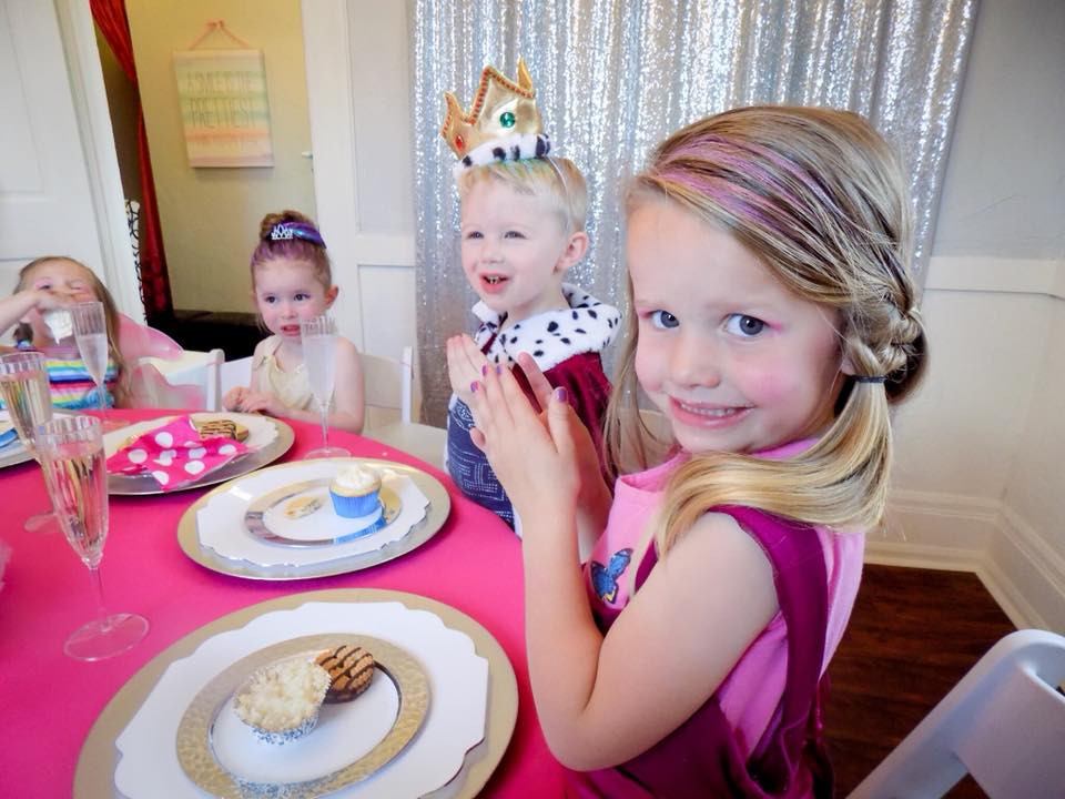 Boys and Girls are welcome to indulge in our fashion show and sweet treats at our kids party venue!