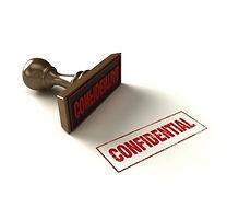 Client Confidential Stamp for Crisis Communication Management