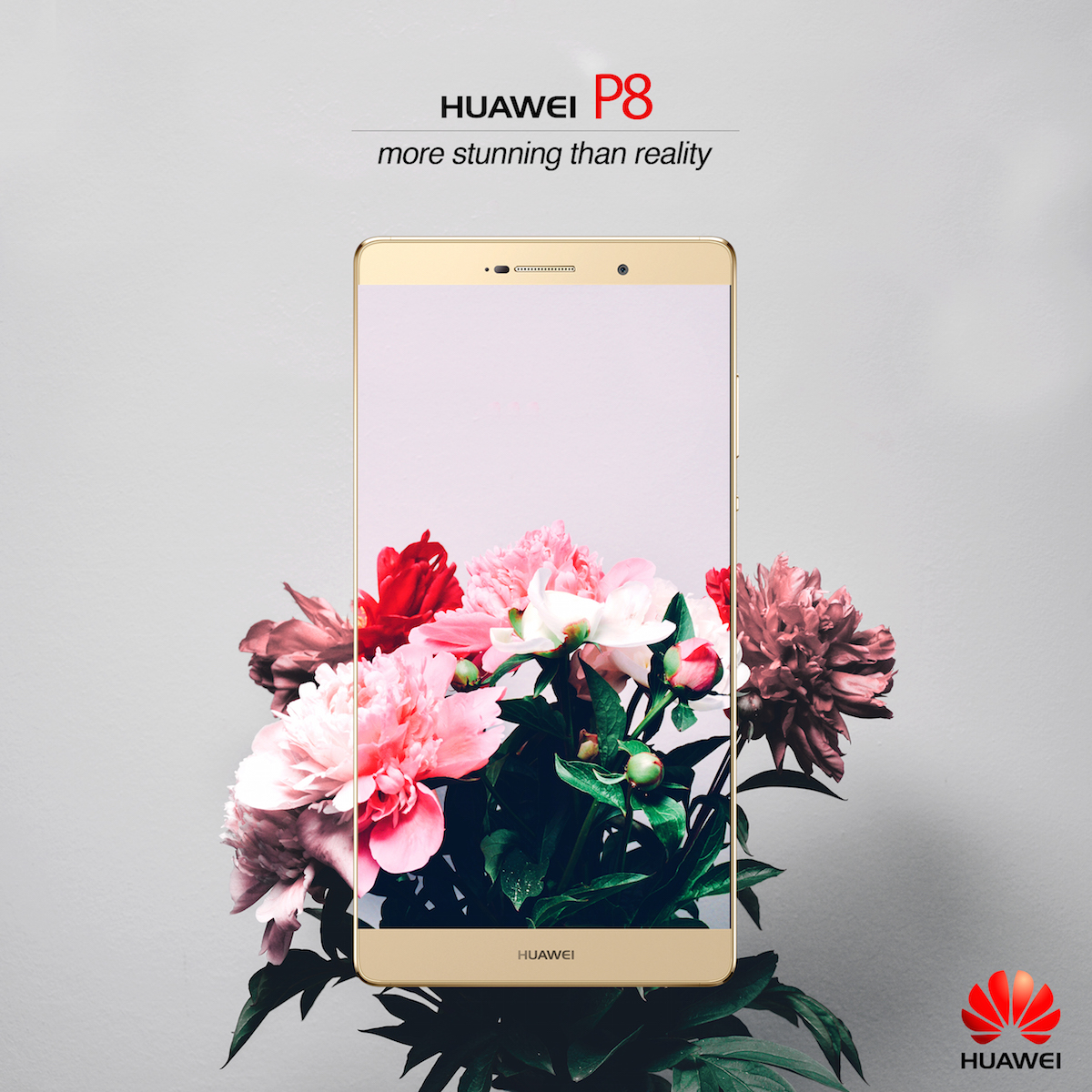 Huawei p8 ad