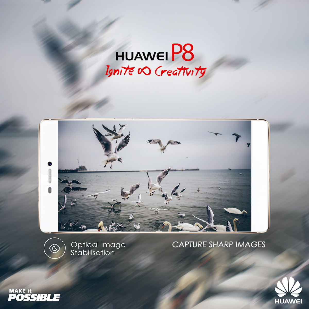 HUAWEI P8 OIS