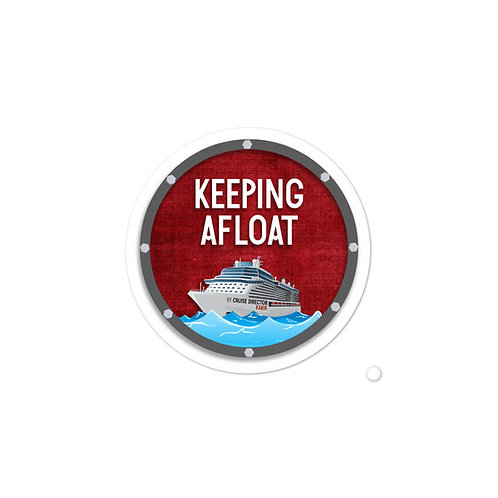 Keeping Afloat Logo Stickers