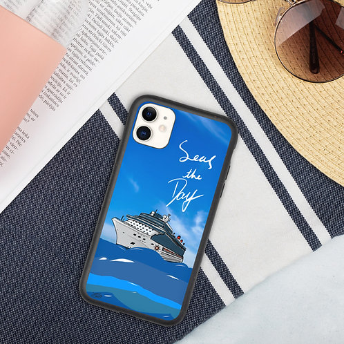 Seas the Day Biodegradable iPhone Case