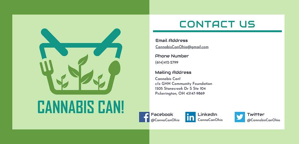 Cannabis Can! Contact Information