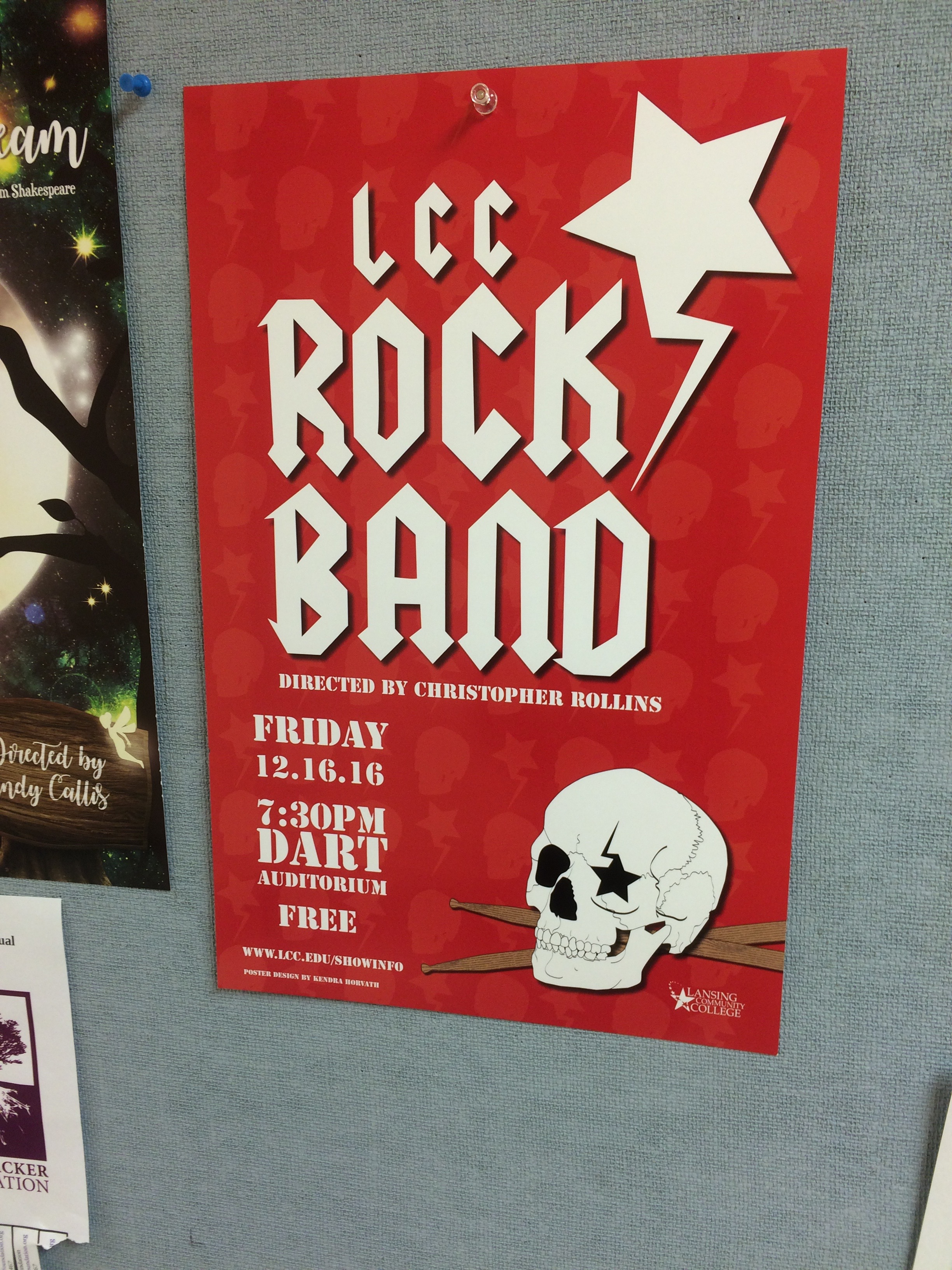 LCC Rock Band poster