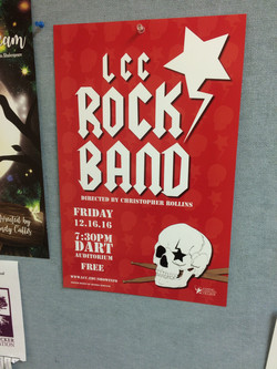 LCC Rock Band poster
