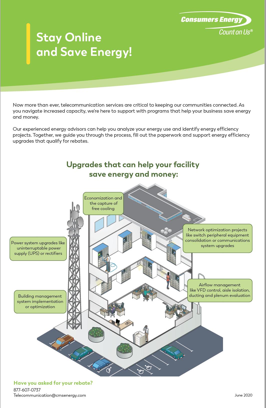 Telecom. Infographic