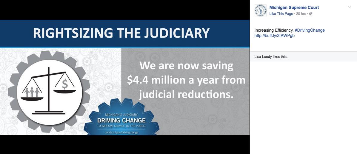 Judiciary Social Media Post