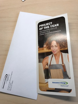 2017 Project of the Year Mailer