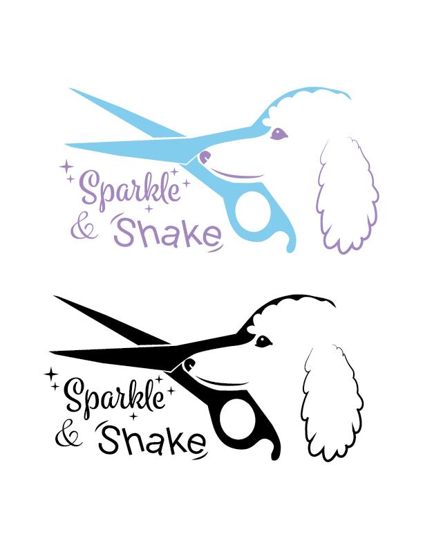Sparkle & Shake Logo
