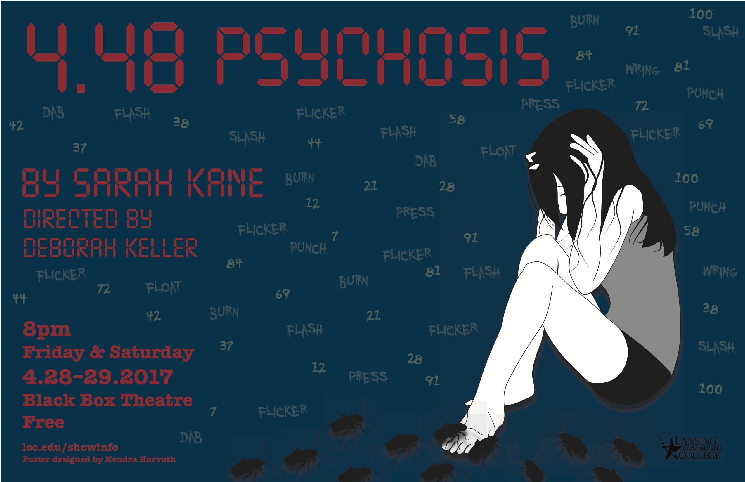 4.48 Psychosis Poster