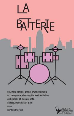 La Batterie Poster