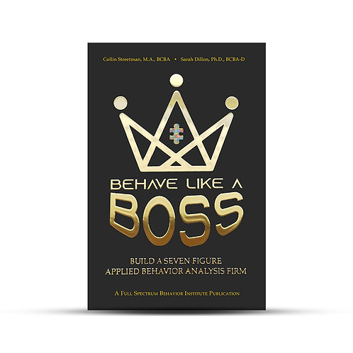 Behave Like a Boss Book