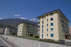 Quartier d'immeubles