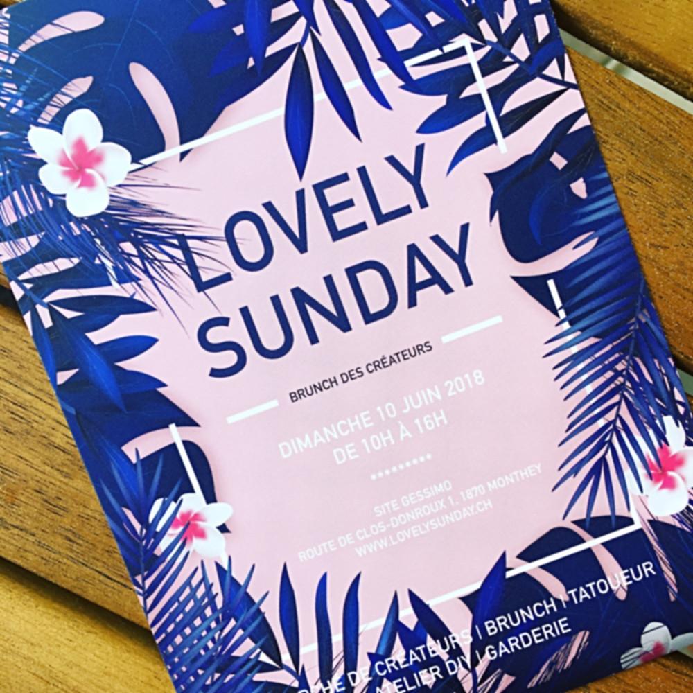 Seconde Vie fera parti de la prochaine édition Lovely Sunday ce dimanche 10juin de 10h-16h, route de clos-donroux 1, 1870 Monthey.