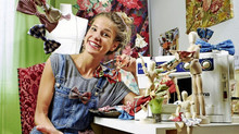 Aline Bacher, une miss qui recycle
