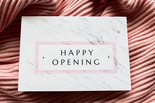 HAPPY OPENING