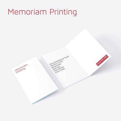 Memoriam Printing