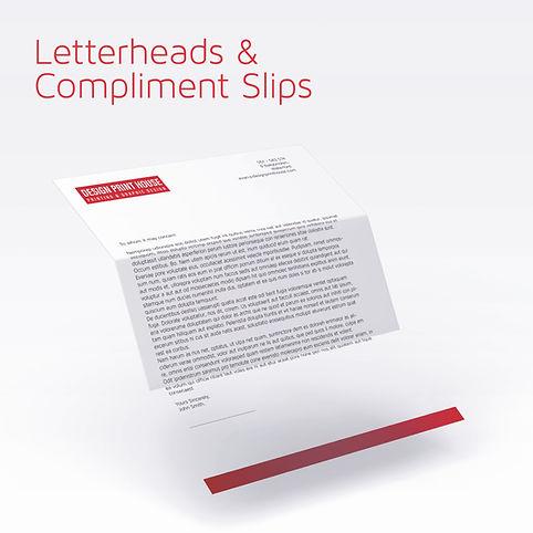 Letterheads & Compliment Slips