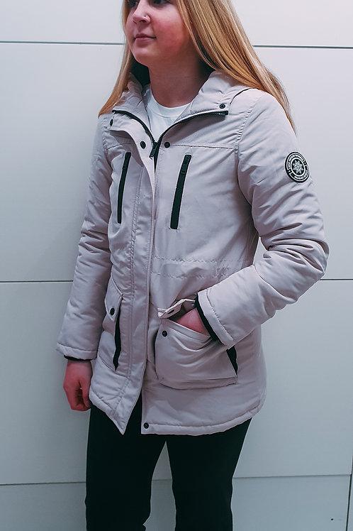 Cream Padded Jacket