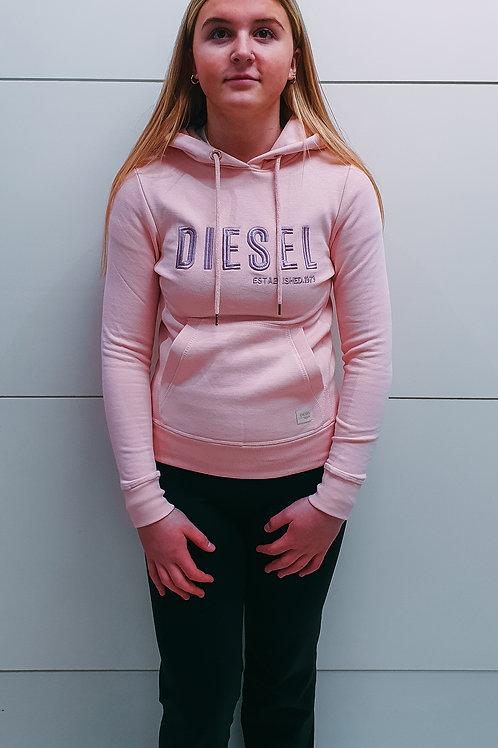 Diesel Pink Hoodie