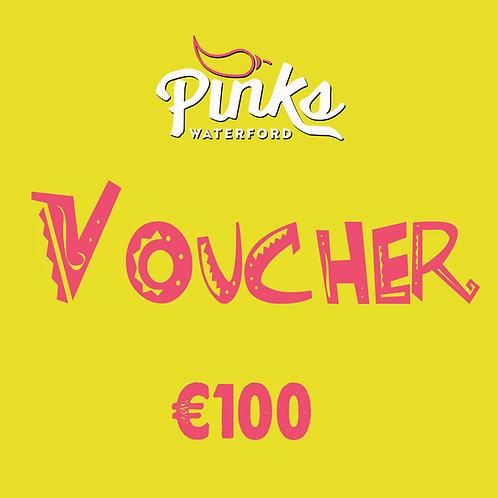Pinks Voucher