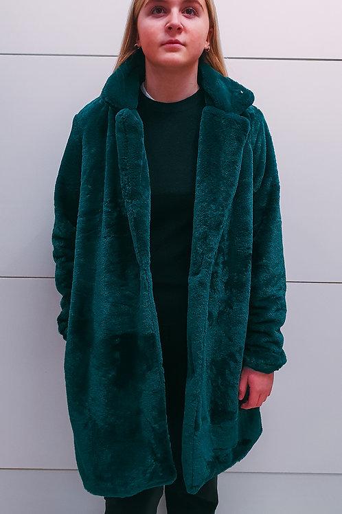 Green Fur Jacket