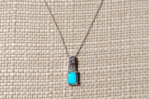 Arizona Sleeping Beauty Turquoise Necklace