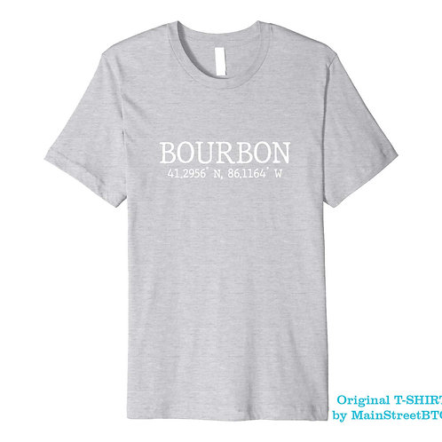 Bourbon Indiana T-SHIRT | Men Women Youth | IN STOCK ON AMAZON