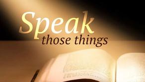 Speak Forth