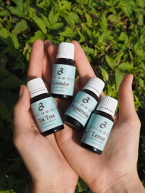 Aromaearth Pure Essential Oils Quad