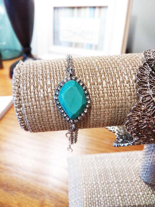 Aqua Jasper Bracelet
