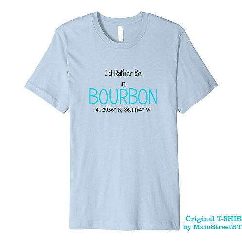 Bourbon Coordinates T-SHIRT | Men Women Children | IN STOCK ON AMAZON