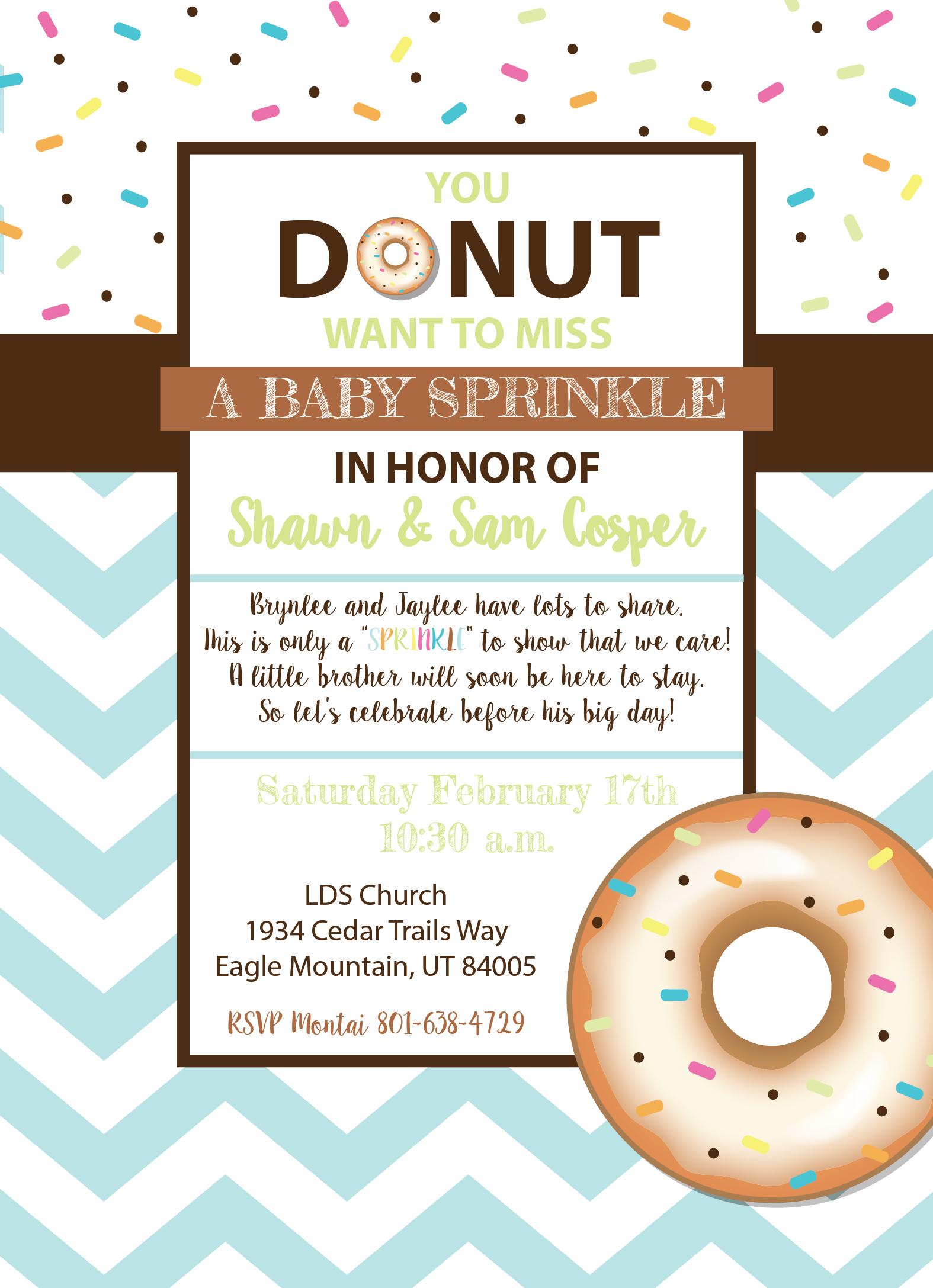 Baby Sprinkle Invite