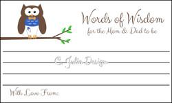 Words of Wisdom Cards