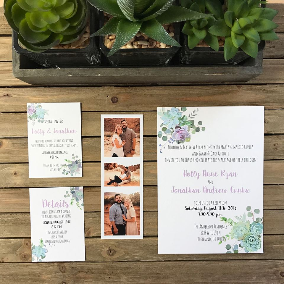 Wedding Invitation Suite