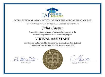 Virtual Assistant Certificate.jpg