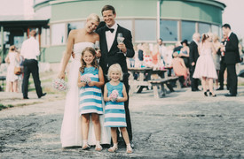 bröllopsfotograf Västernorrland gruppbild
