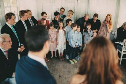 bröllopsfotograf familj Härnösand