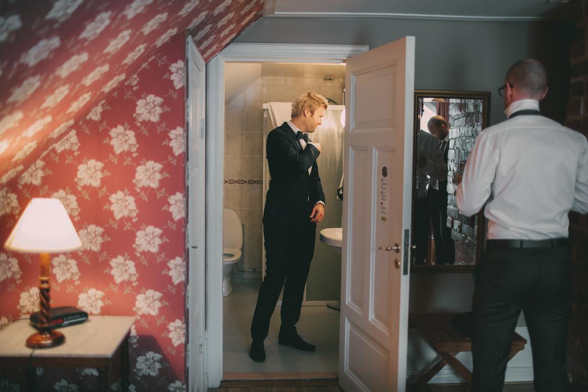 bröllopsfoto Sundsvall förberedelser