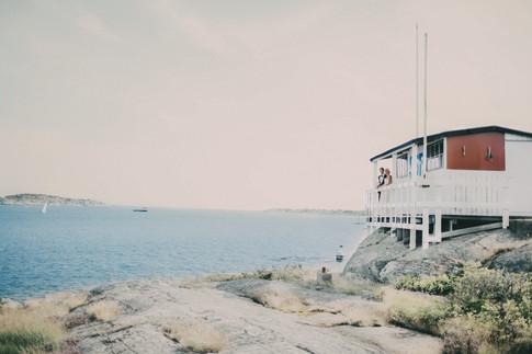 bröllopsfotograf Örnsköldsvik båthus