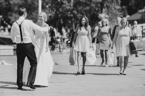 bröllopsfotograf Örnsköldsvik brudparet