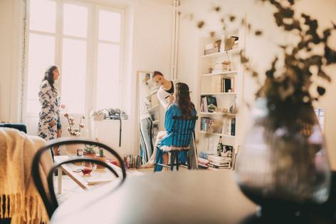 Bröllopsfotograf Örnsköldsvik makeup