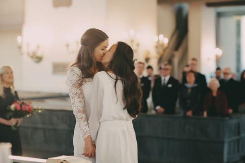 Bröllopsfotograf Örnsköldsvik kyss