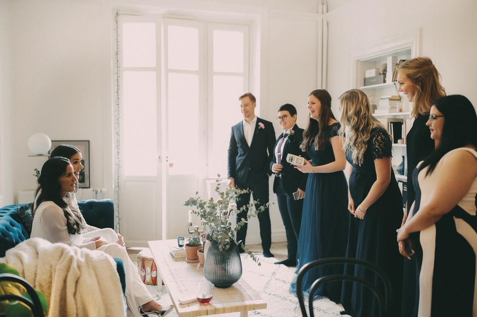Bröllopsfotograf Sundsvall vänner