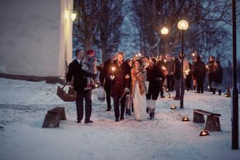 bröllopsfotograf Övik facklor