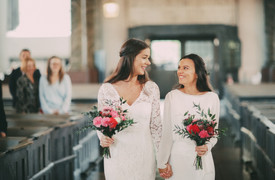 Bröllopsfotograf Sundsvall kyrka