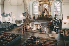 Bröllopsfotograf Västernorrland kyrka