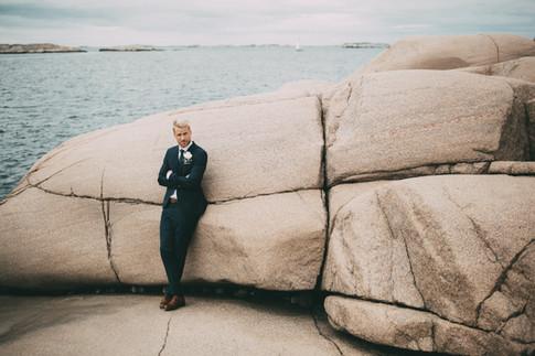 bröllopsfoto brudgum Göteborg