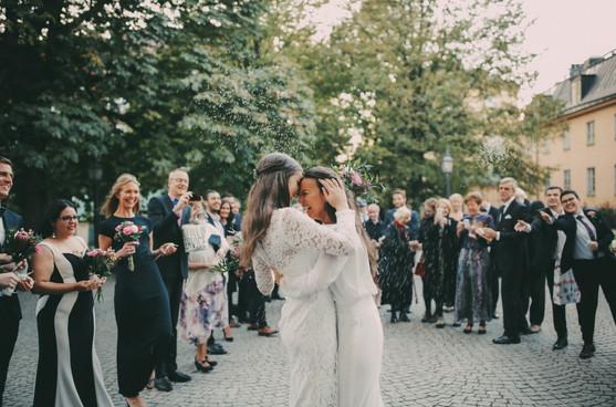 Bröllopsfotograf Umeå skratt